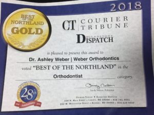 Best of the Northland Image - Weber Orthodontics